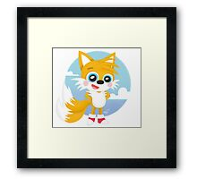 Tails - Sonic Games Framed Print