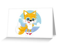 Tails - Sonic Games Greeting Card
