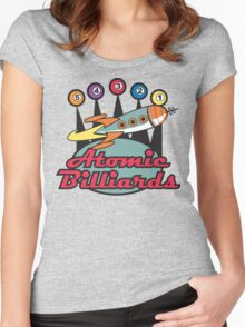 Bowling Retro Women's Fitted Scoop T-Shirt