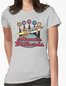 Bowling Retro Womens Fitted T-Shirt