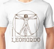 I LOVE LEONARDO DA VINCI T-shirt Unisex T-Shirt