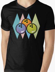 Classic Bowling Mens V-Neck T-Shirt