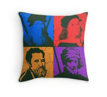 Renaissance Ninjas Throw Pillow