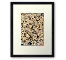 these modern times Framed Print