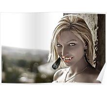Vampire Smile Poster