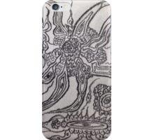 A dream within a dream. Tribute to Gustav Klimt iPhone Case/Skin