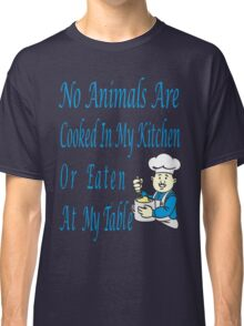 No Animals Classic T-Shirt
