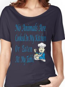 No Animals Women's Relaxed Fit T-Shirt