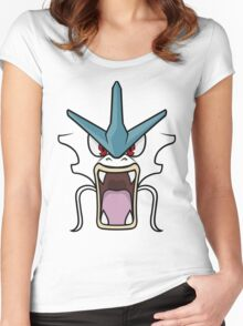 Gyarados Women's Fitted Scoop T-Shirt