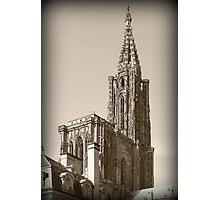 Cathédrale Notre-Dame-de-Strasbourg Photographic Print