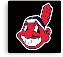 MLB - Indians Canvas Print