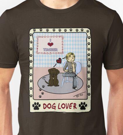 Comic Tom Felton - Dog Lover Unisex T-Shirt