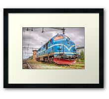 Locomotives of Värnamo VI Framed Print