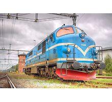 Locomotives of Värnamo VI Photographic Print