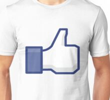 Facebook Like Unisex T-Shirt