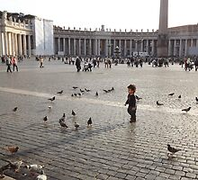 St Peter's Square, Italy by graceloves