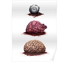 Eye Heart Brains Poster
