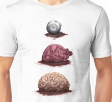 Eye Heart Brains Unisex T-Shirt