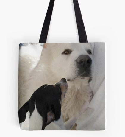 DUKE AND FRIEND Tote Bag