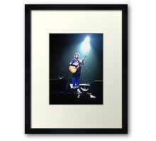 Jack black Framed Print