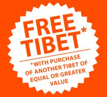 Free Tibet* by Robin Lund