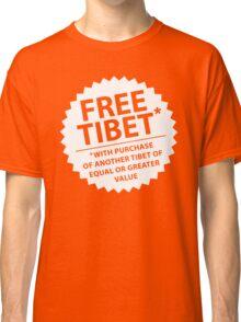 Free Tibet* Classic T-Shirt