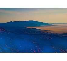 Sandia Crest-South Photographic Print