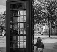 A Wonderful World - Phone Box by Sevenhills