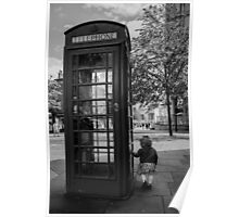 A Wonderful World - Phone Box Poster
