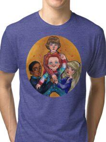 THEIR FRIEND TO THE END Tri-blend T-Shirt