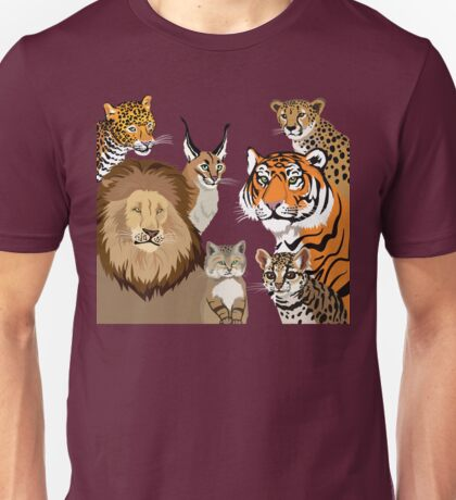 I Am Thankful For Felidae Unisex T-Shirt