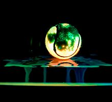 Radioactive Tennis Ball by Toastmuncher