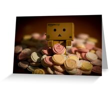 Valentine Danbo Greeting Card