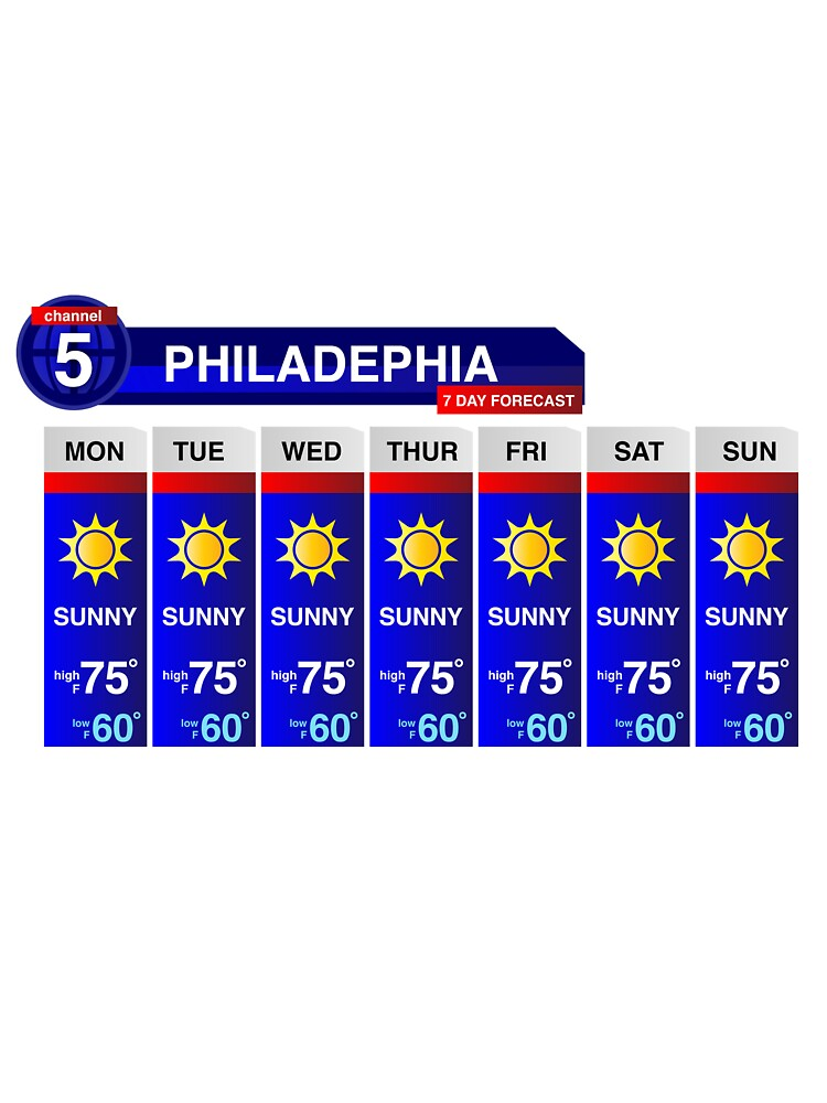 Philadelphia Weather Report by keepers