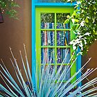 Turquoise Window by Linda Gregory