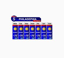 Philadelphia Weather Report Unisex T-Shirt