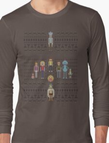 Rick and Morty Family Portrait Long Sleeve T-Shirt