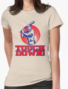 Touchdown! Womens Fitted T-Shirt