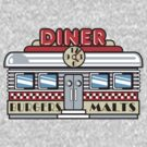 Bowling Retro Diner by SportsT-Shirts