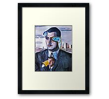 Time Lord. Framed Print
