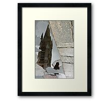 Street piece Framed Print