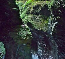 Mossy Rock at Devils Cauldron by magicaltrails