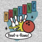 Retro Bowling by SportsT-Shirts