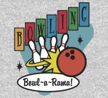 Retro Bowling by SportsT-Shirts
