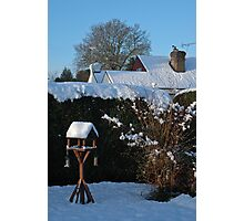 Early morning sun and snow Photographic Print