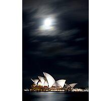 Opera under the moon Photographic Print
