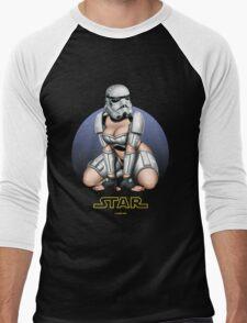 Femtrooper - Black Men's Baseball ¾ T-Shirt