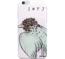 MBTI GHOSTS AND GHOULS- INTJ BIRD MONSTER MUTANT iPhone Case/Skin