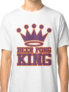 Beer Pong King Classic T-Shirt