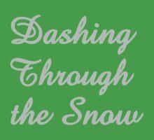 Dashing Through the Snow Kids Tee